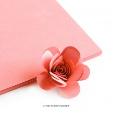 The Stamp Market - Salmon Cardstock (4 sheets)