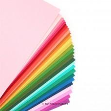 The Stamp Market - Color Crush Cardstock Assortment (31 colors - 1 sheet per color)
