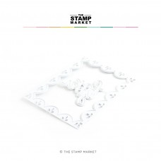 The Stamp Market - Scalloped For You Frame Die