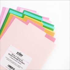 The Stamp Market - Stick n' Store Stamp Storage Dividers - XL - Rainbow
