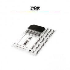 The Stamp Market - Tag'd Stamp Set