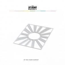 The Stamp Market - Retro Sunshine Cover Die