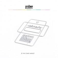 The Stamp Market - 3 x 3 Envelope Dies