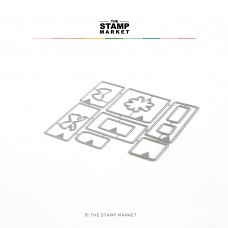 The Stamp Market - It's A Wrap Die