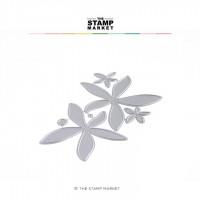 The Stamp Market - 3D Field Flower Dies