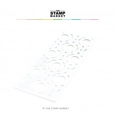 The Stamp Market - XO Slimline Cover Die