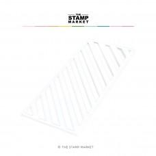 The Stamp Market - Diagonal Stripes Slimline Die