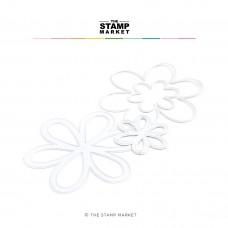 The Stamp Market - Basic Flowers Dies