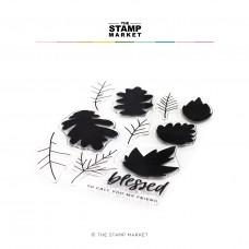 The Stamp Market - Autumn Leaves Stamp Set