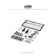 The Stamp Market - Happy + Merry bundle (stamp and dies)