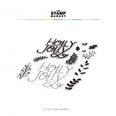 The Stamp Market - Holly Jolly Stamp Set