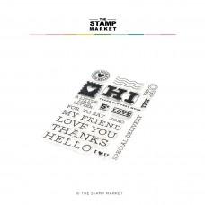 The Stamp Market - Love Letter Express Stamp Set