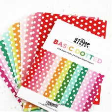 The Stamp Market - Basic Dotted Paper Pad
