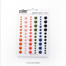 The Stamp Market - Enamel Dots Collection 3