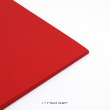 The Stamp Market - Lipstick Red Cardstock (12 sheets)