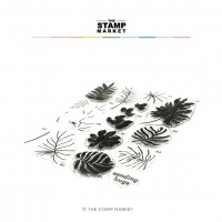 The Stamp Market - Tropical Foliage Stamp Set