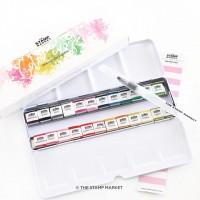 The Stamp Market - Color Crush Watercolor Palette Pans