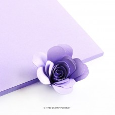 The Stamp Market - Wisteria Cardstock (4 sheets)