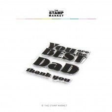 The Stamp Market - You Are The Best Dad Stamp