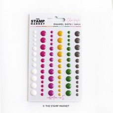 The Stamp Market - Enamel Dots Collection 5