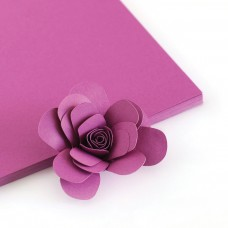 The Stamp Market - Orchid Cardstock (4 sheets)