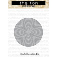 The Ton - Circle Frames Slim Borders Coverplate Die