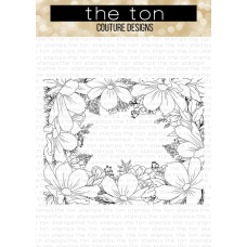 The Ton - Cosmos Border Cling Background