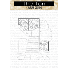 The Ton - Courtyard Stairs Cling Background