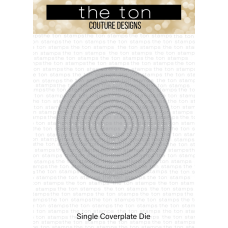 The Ton - Double Pierced Circle Coverplate Die