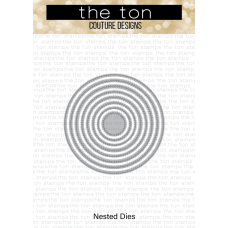 The Ton - Double Pierced Circle Nested Dies