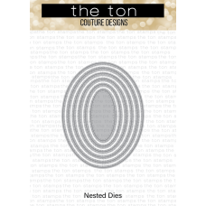 The Ton - Double Pierced Oval Nested Dies