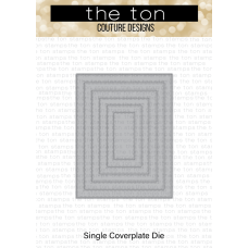 The Ton - Double Pierced Rectangle A2 Coverplate Die