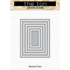 The Ton - Double Pierced Rectangle A2 Nested Dies