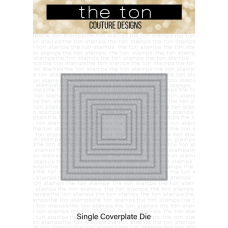 The Ton - Double Pierced Square Coverplate Die