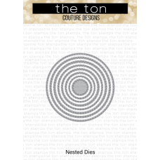 The Ton - Double Stitched Circle Nested Dies