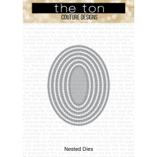 The Ton - Double Stitched Oval Nested Dies