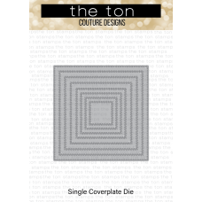 The Ton - Double Stitched Square Coverplate Die