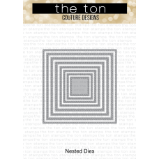 The Ton - Double Stitched Square Nested Dies