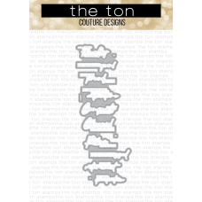 The Ton - Easy Expressions Cheers Coordinating Die