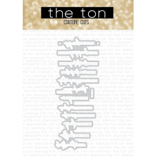 The Ton - Easy Expressions (Original) Coordinating Die
