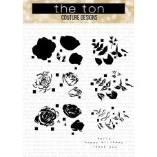 The Ton - Grouped Fresh Garden Roses