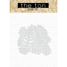 The Ton - Leafy Bits Coverplate Die
