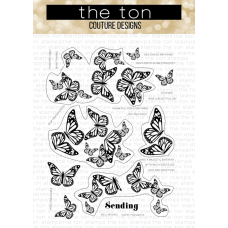 The Ton - Majestic Monarchs Coordinating Stamp