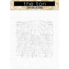 The Ton - Many Monsteras Cling Background