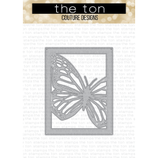 The Ton - Monarch Butterfly Coverplate Die