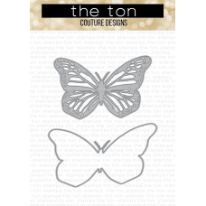 The Ton - Monarch Butterfly Layering Dies