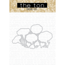 The Ton - Morning Glory Cheer Coordinating Die
