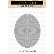 The Ton - Oval Frames Slim Borders Coverplate Die