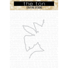 The Ton - Palm Layering Stencil Coordinating Die