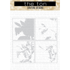 The Ton - Palm Layering Stencils